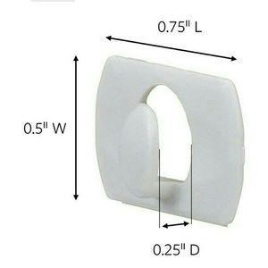 20 White 3M Command Decorating Clips Light Hooks Boutique